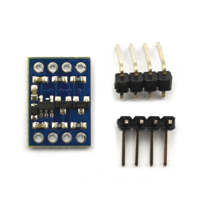 IIC I2C Level Conversion Module Compatible with 3~5V System Sensor - Blue 0 96 inch yellow blue dual color oled display 12864 lcd screen module spi iic 3 3 5v interface