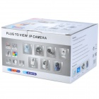 Ontop RT8028 Standalone TCP/IP Camera with 9-LED Night Vision - White + Black