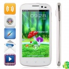 "B94M Android 4.1.2 Quad Core Smartphone w/ 4.5"" Capacitive Screen, GPS, Wi-Fi and Dual-SIM - White"