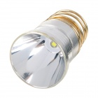 UltraFire CREE XPG2 3-Mode 450lm 6000~6500K White Light Aluminum Smooth Reflector - Silver + Golden