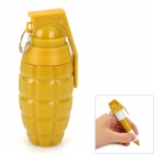 ZX-0225 Creative Grenade Style Retractable Ballpoint Pen - Yellow
