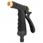 High Pressure Plastic + Copper Car Washing & Cleaning Gun - Black