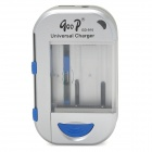 GD GD-916 AA / AAA / Cell Phone / Camera Battery Charger - Silver + Blue