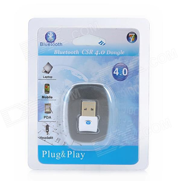 p csr  bluetooth usb dongle white