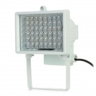5W 850nm 54-LED IR White Light Monitor Camera Lamp - White (DC 12V)