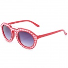 SENLAN 6236 Retro Style UV400 Protection Sunglasses - Red + White