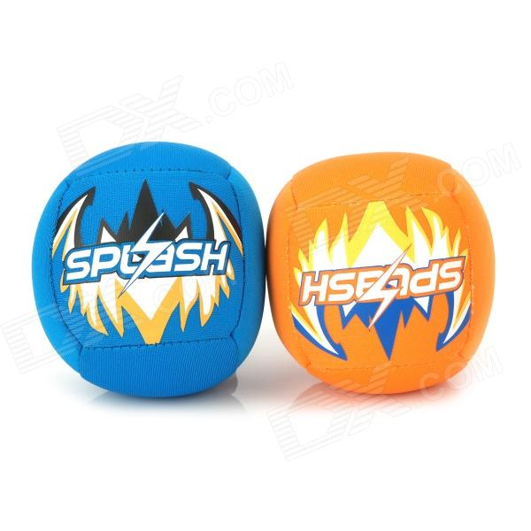 Winmax WMB10330 Splash Beach Balls - Blue + Orange (2 PCS)