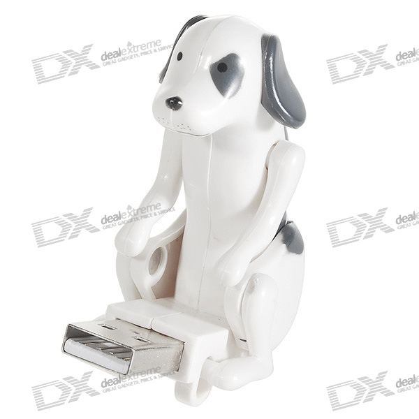USB Powered Stress Relieving Cute Mini Robot Dog