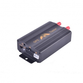 LSON TK103A Multi-Function GSM / GPRS / GPS / SMS Car Vehicle Positioning Tracker - Black