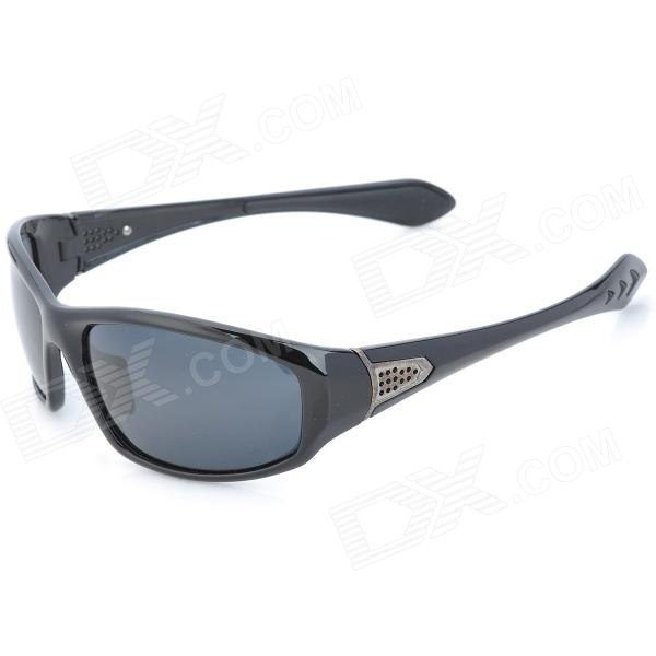 OREKA 1057 Sports UV400 Protection Polarized Resin Lens Sunglasses - Black автомат play smart снайпер р41399