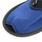 Travelicons Portable Folding Slippers - Deep Blue + Black (Pair)