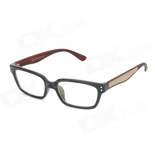 купить SENLAN M6275 Radiation Protection Resin Lens Decoration / Computer Glasses - Brown + Black дешево