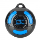 BL-1000 Intelligent Bluetooth v2.0 Speaker Cell Phone Anti-Lost Anti-Theft Device - Black + Blue