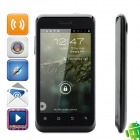 "ZTE V889S Android 4.1 WCDMA Bar Phone w/ 4.0"" Capacitive Screen, Wi-Fi, GPS and Dual-SIM - Black"