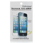 Protective PET Clear Screen Protector w/ Cleaning Cloth for Samsung i8190 - Transparent