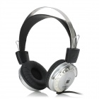 SUOYANA  S-092 Gaming Wired Headphones w/ Microphone - Black + Silver (3.5mm Plug / 2m)