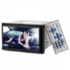 "7"" Touch Screen 2 Din In-Dash Car DVD Player GPS w/ RDS / Ipod / BT / ATV / AM / FM - Black"