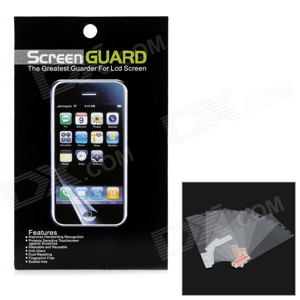 Protective Clear Screen Protectors w/ Cleaning Cloth for BlackBerry Z10 - Transparent (5 PCS)