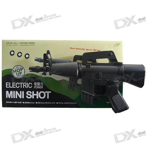 M94 Electronic 6mm Machine BB Gun Toy