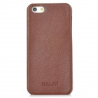 Galas Protective Genuine Leather Case für iPhone 5 - Coffee