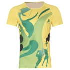 Release Moisture Wicking Quick Drying Polyester T-Shirt - Yellow (XXXL)