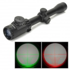 3-9X32EG 3~9X Magnification Red / Green Light Gun Aiming Scope Sight - Black (1 x CR2032)