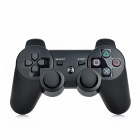 Stylish Wireless Bluetooth V3.0 DoubleShock Controller for PS3 / PS3 Slim / PS3 CECH 4000 - Black