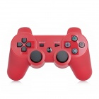Stylish Wireless Bluetooth V3.0 DoubleShock Controller for PS3 / PS3 Slim / PS3 CECH 4000 - Red