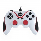 Gedoushi USB Game Controller for PC - White + Red + Black