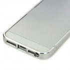 Ultra Thin Aluminum Alloy Bumper Case for Iphone 5 - Silver