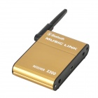 V3.0 sem fio Bluetooth + EDR ISM Audio Receiver - Golden Preto +