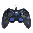 Gedoushi USB Game Controller for PC - Black + Blue