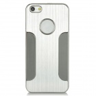 B005J Protective Metal Back Case for Iphone 5 - Silver
