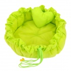 Pet's Dog Cat Washable PP Cotton Nest - Green