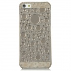 Water Drops Style Protective Plastic Back Case for Iphone 5 - Translucent Grey
