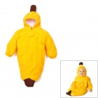 Banana Style Baby's Pure Cotton + Double-Layer Fleece Sleeping Bag - Yellow + Brown