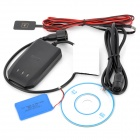 GPS / GSM / GPRS / SMS Vehicle Tracker for Motorcycle / Car - Black