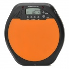"Meideal DStart100 2.0"" LCD Drummer Training Pad Drum Tutor - Black + Orange (2 x AAA)"
