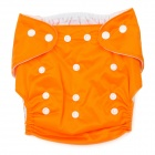 DS DS6005 Polyester Elastic Waterproof TPU Nano Anti-Bacterial Diapers - Orange (Free Size)