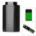 External Portable 1000mAh 30-Pin Charging Power Bank for iPhone 4 / 4S - Black