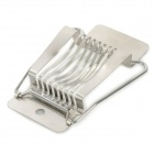 Stainless Steel Egg Cutter - Silver