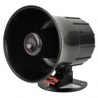 12V Auto Parts Car Burglar Alarm Horn Speaker - Black + Red