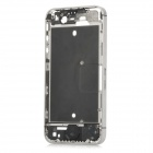 Replacement Middle Housing Frame for Iphone 4S - Silver + Black