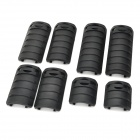 KAC Hand Guard RAS Rail Covers for 21mm Rail - Black (8 PCS)