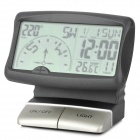 "PR-166 3.5"" LCD Multifunction Car Digital Compass - Black + Silver (3 x AAA)"