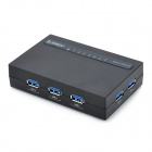 ORICO H7988-U3 7-Port USB 3.0 Hub w/ USB 3.0 Data Cable / US Plug Power Adapter - Black