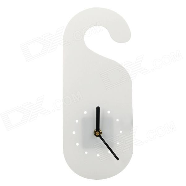 Ultra-Slim Creative Hanging Wall Clock - White (1 x AA) free shipping 80cm 304stainless steel floor drain bathroom kitchen shower square floor waste grate sanitary dr080
