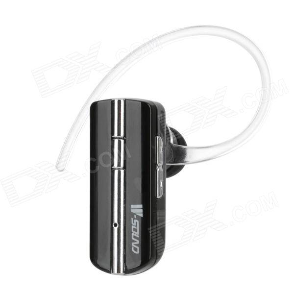 W-sound WK-300 Bluetooth v3.0 Stereo Ear Hook Headset w/ Microphone - Black + Silver