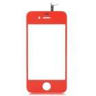 Replacement Glass Touch Screen Digitizer für iPhone 4 - Red