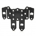 TB566 Plastic Chest Hanger Hook - Black